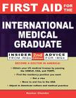 First Aid for the International Medical Graduate Cover Image