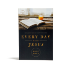 CSB Every Day with Jesus Daily Bible, Trade Paper Edition: Trade Paper Edition, Black Letter, 365 Days, One Year, Devotonals, Easy-to-Read Bible Serif Type Cover Image