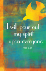 I Will Pour Out Pentecost Bulletin (Pkg of 50) Cover Image