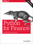 Python for Finance: Mastering Data-Driven Finance Cover Image