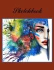 Sketchbook -Art Notebooks-Sketchbook for Art-Sketch Book for Adults- Sketch Pad for Drawing- Blank Journal-Art Sketchbook- Cover Image