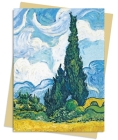 Van Gogh: Wheat Field with Cypresses Greeting Card Pack: Pack of 6 (Greeting Cards) Cover Image