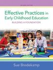 Effective Practices in Early Childhood Education: Building a Foundation Cover Image
