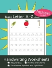 Trace Letter A-Z Sheet Handwriting Worksheets: Trace Letters Alphabet and Sight Words ABCs Writing and Reading and Coloring For Kids Age 3-5 Cover Image