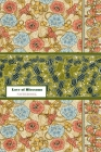 Love of Blossoms NOTEBOOK [ruled Notebook/Journal/Diary to write in, 60 sheets, Medium Size (A5) 6x9 inches] Cover Image