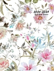 2021-2025 Five Year Planner: 60-Month Schedule Organizer 8.5 x 11 with Floral Cover (Volume 6) Cover Image