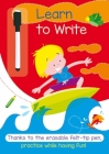 Learn to Write: A Full-Color Activity Workbook That Makes Practice Fun Cover Image