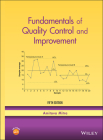 Fundamentals of Quality Control and Improvement Cover Image