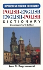 Polish-English/English Polish Concise Dictionary (Hippocrene Concise Dictionary) Cover Image
