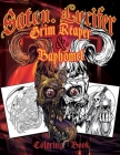 Satan Lucifer Grim Reaper & Baphomet Coloring Book: Featuring: Black Goat, Cthulhu, the grim reaper, the Krampus and More! 35 Single-sided pages. Cont Cover Image