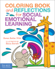 Coloring Book and Reflections for Social Emotional Learning Cover Image