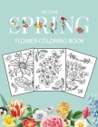 Flower Coloring Book: Adult Coloring Book with beautiful realistic flowers, bouquets, floral designs, sunflowers, roses, leaves, butterfly, Cover Image