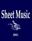 Sheet Music: 50 Pages 8.5 X 11 Cover Image
