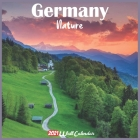Germany Nature 2021 Wall Calendar: Official Germany Nature Calendar 2021, 18 Months Cover Image