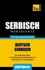 Serbischer Wortschatz für das Selbststudium - 3000 Wörter Cover Image