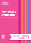 Leckie National 5 English for SQA 2019 and Beyond - Revision + Practice - 2 Books in 1: Revise for N5 SQA Exams Cover Image