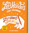The Left-Hander's 2021 Weekly Planner Calendar Cover Image