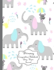 Primary Composition Notebook Story Paper Journal: Cute elephant Shower Primary journal for kids - Primary Composition Notebook - Story Journal For Gra Cover Image