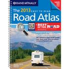Rand McNally Road Atlas Large Scale Midsize, 2013 Cover Image
