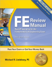 PPI FE Review Manual: Rapid Preparation for the Fundamentals of Engineering Exam, 3rd Edition – A Comprehensive Preparation Guide for the FE Exam Cover Image