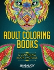Adult Coloring Books: A Coloring Book Package Cover Image