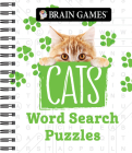 Brain Games - Cats Word Search Puzzles Cover Image