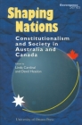 Shaping Nations: Constitutionalism and Society in Australia and Canada (Governance) Cover Image