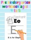 Pre kindergarten workbook ages 4 to 5: my first learn to write books, pen control and tracing book, homeschool, caligraphy, abc Cover Image