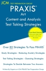 PRAXIS Art Content and Analysis - Test Taking Strategies: PRAXIS 5135 - Free Online Tutoring - New 2020 Edition - The latest strategies to pass your e Cover Image