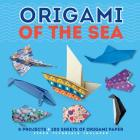 Origami of the Sea (Dover Origami Papercraft) Cover Image