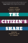 The Citizen's Share: Reducing Inequality in the 21st Century Cover Image