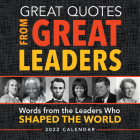 2022 Great Quotes from Great Leaders Boxed Calendar Cover Image