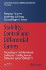 Stability, Control and Differential Games: Proceedings of the International Conference