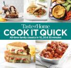 Taste of Home Cook It Quick: All-Time Family Classics in 10, 20 and 30 Minutes Cover Image