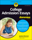 College Admission Essays for Dummies Cover Image
