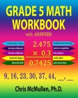 Grade 5 Math Workbook with Answers Cover Image
