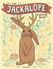 The Jackalope Coloring Book: A Magical Mythical Animal Coloring Book Cover Image