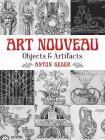 Art Nouveau: Objects and Artifacts (Dover Pictorial Archive) Cover Image