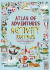 Atlas of Adventures Activity Fun Pack: With a Coloring-In Book, Huge World Map Wall Poster, and 50 Stickers Cover Image