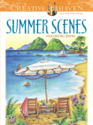 Creative Haven Summer Scenes Coloring Book Cover Image