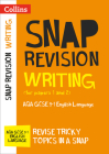 Collins Snap Revision – Writing (for papers 1 and 2): AQA GCSE English Language Cover Image