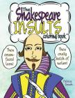 The Shakespeare Insults Coloring Book Cover Image