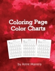 Coloring Page Color Charts Cover Image