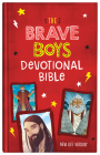 The Brave Boys Devotional Bible: New Life Version Cover Image