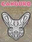Libros para colorear para adultos para lápices y marcadores - Mandala - Animal - Canguro Cover Image