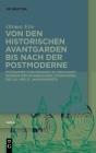Von den historischen Avantgarden bis nach der Postmoderne Cover Image
