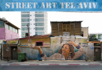 Street Art Tel Aviv: In a Time of Transition. Curated, photographed and introduced by Lord K2 and Lois Stavsky Cover Image