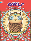 Owls Coloring Book (Dover Coloring Books) Cover Image