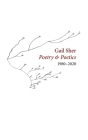Gail Sher Poetry & Poetics 1980-2020 Cover Image