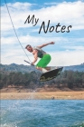 My notes: Wakeboard Notebook - Size 6